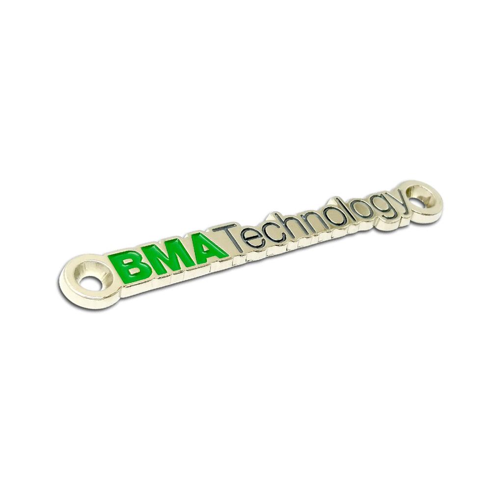 BMA Technology metal etiket