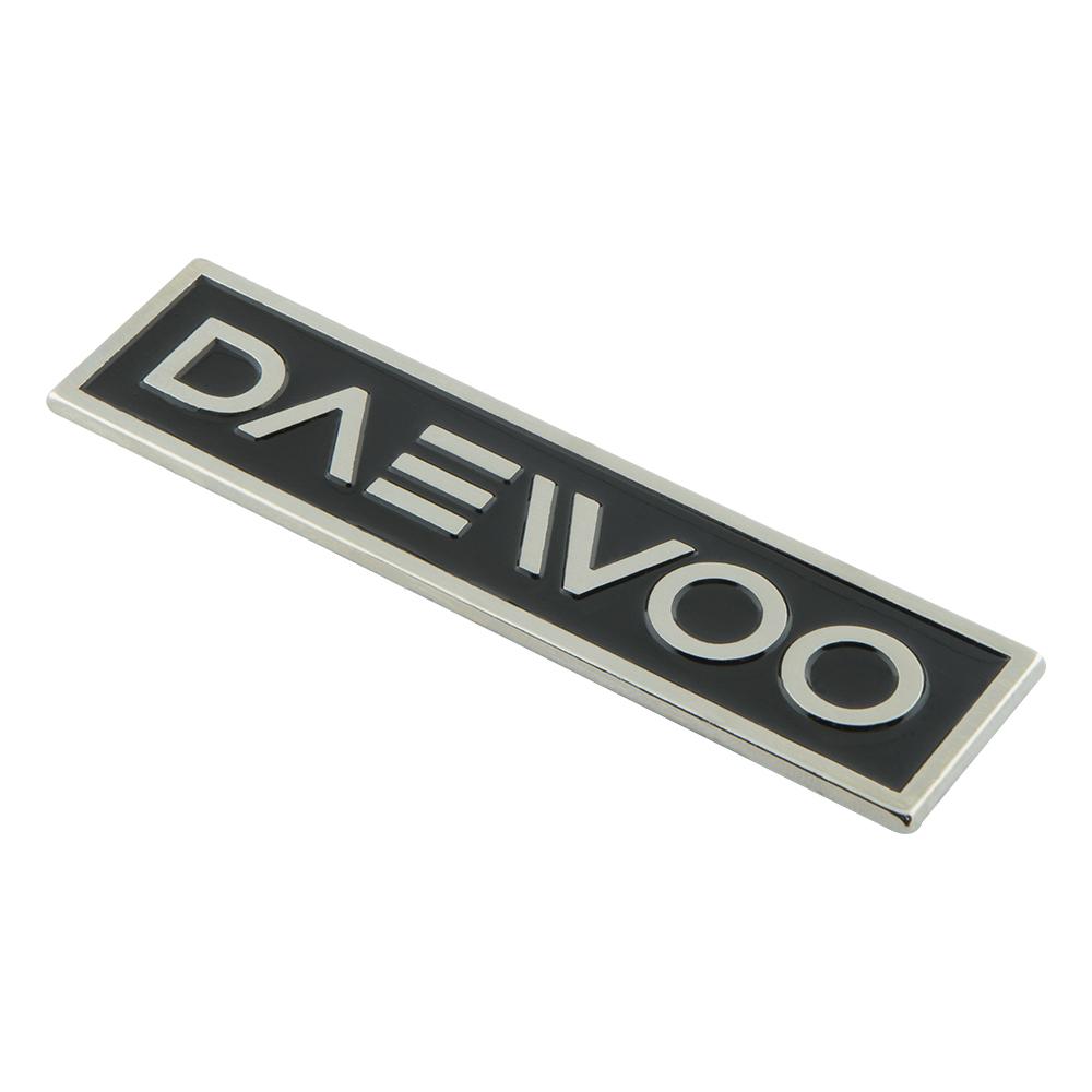 Daewoo Döküm Etiket