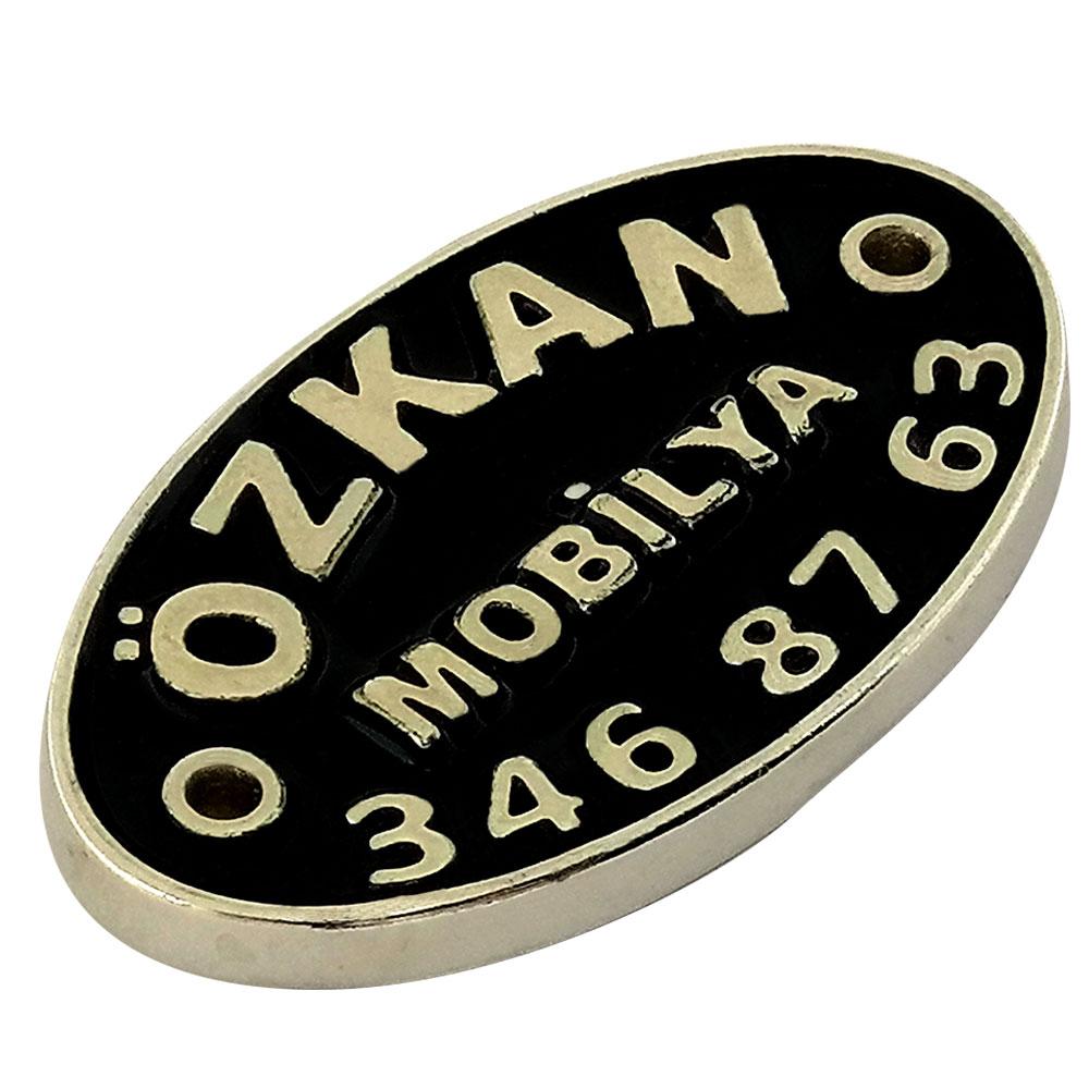 Özkan Mobilya Döküm Etiket