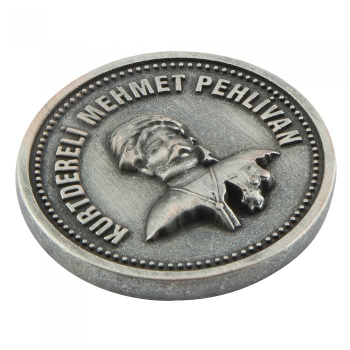Kurtdereli Mehmet Pehlivan Metal Madalyon Arma