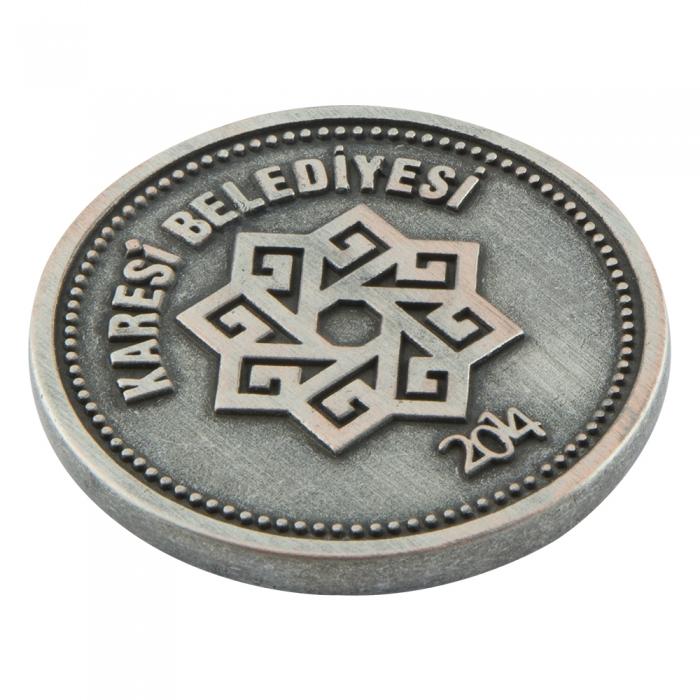 Kurtdereli Mehmet Pehlivan Metal Madalyon Arma 2