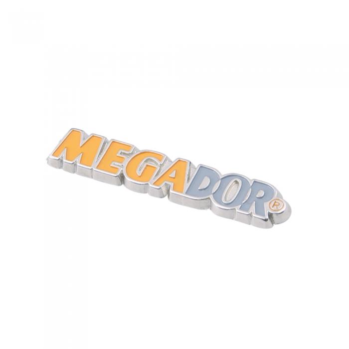 megador 3d metal etiket
