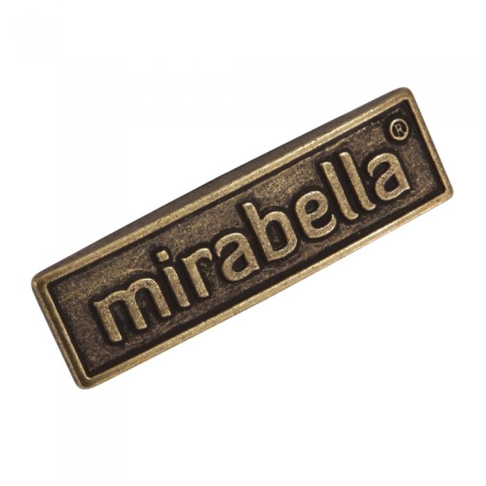 Mirabella 3d metal etiket