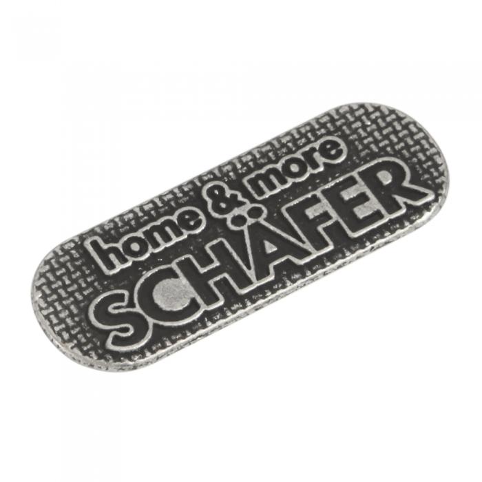 Schafer-2 3d metal etiket