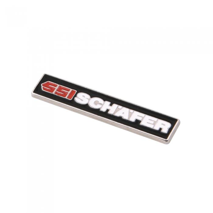 ssi-schafer 3d metal etiket