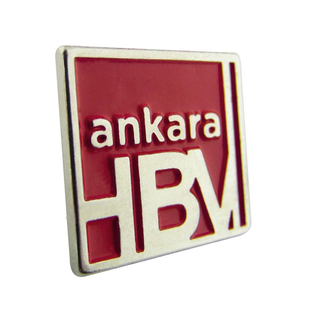 Ankara HBV Nikel Boyalı Rozet