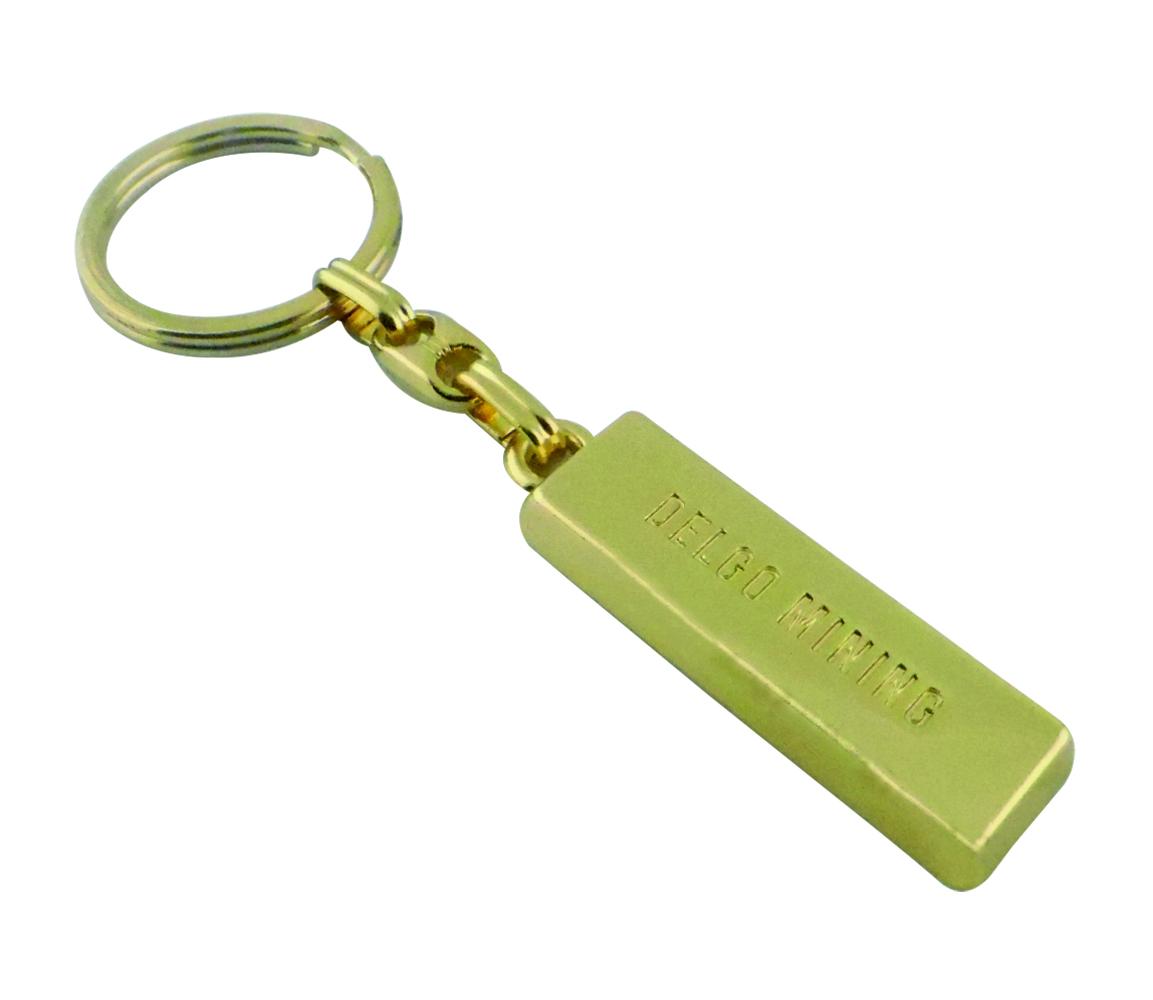 Külçe Altın gold bullion keychain