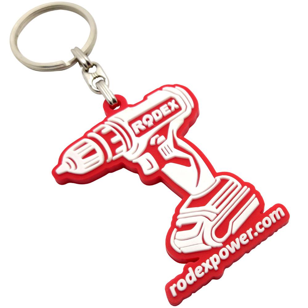 Rodex Power pvc kauçuk anahtarlık