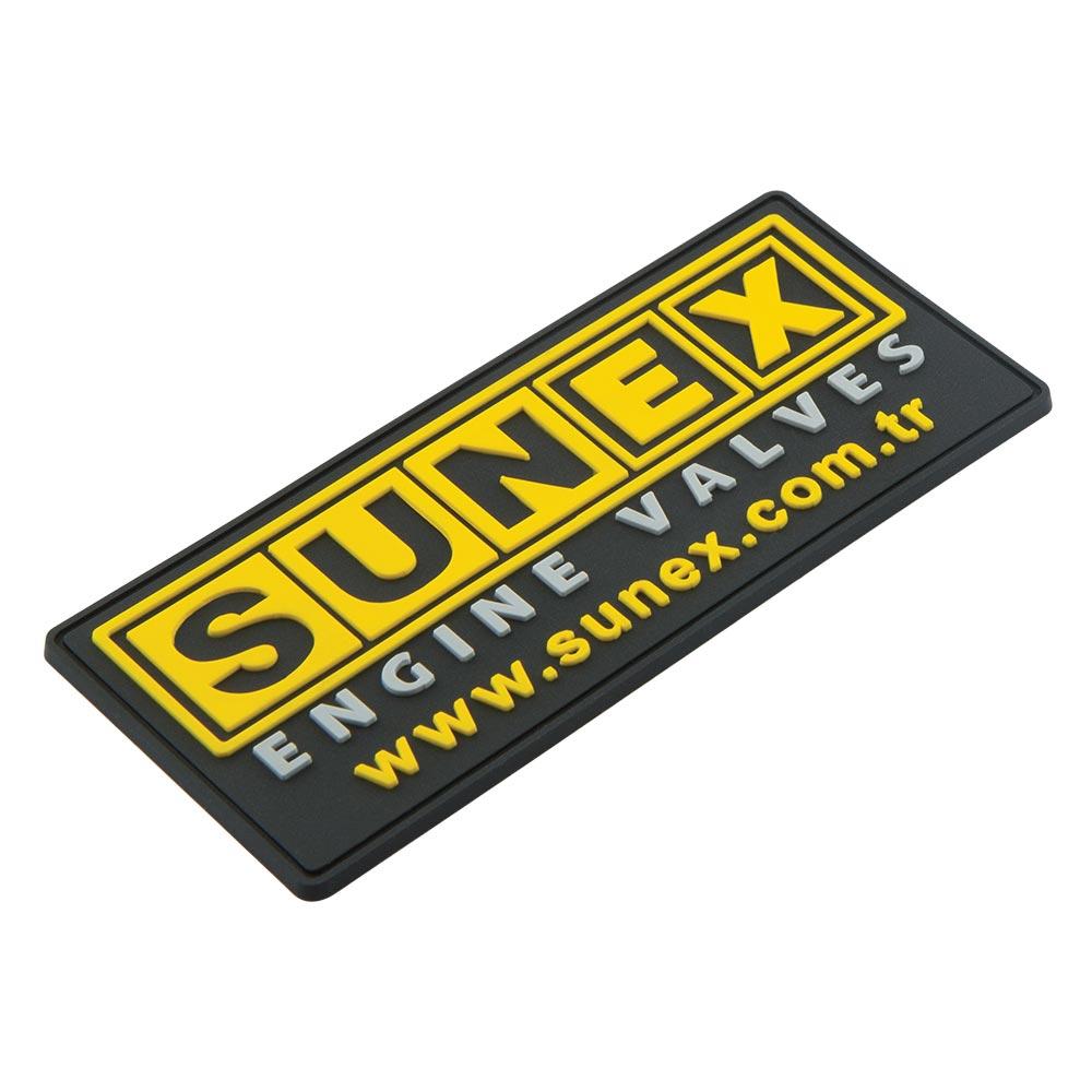 sunex Pvc Kauçuk Etiket