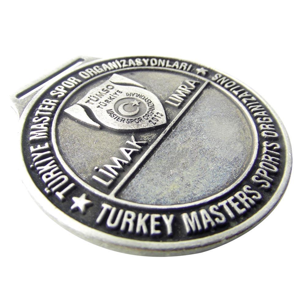 türkiye master spor organizasyonları kalay eskitme madalyon
