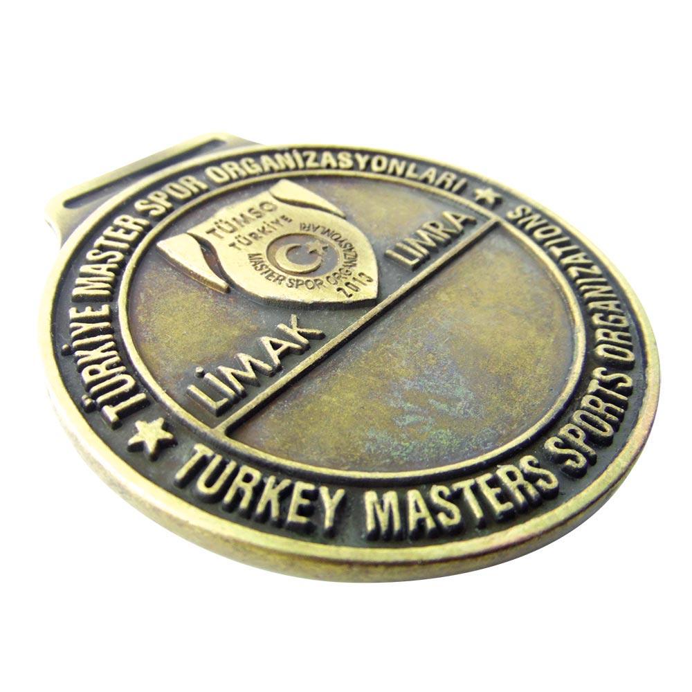 türkiye master spor organizasyonları prinç eskitme madalyon