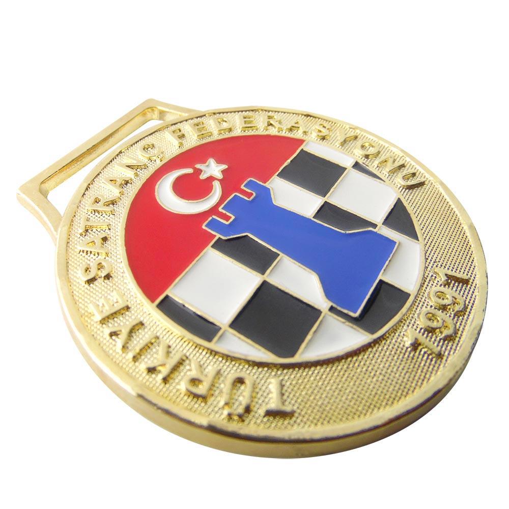 Türkiye Satranç Federasyonu Madalyon 2 madalyon
