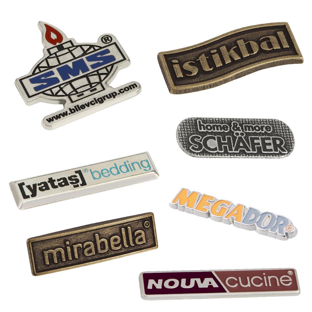 3D Metal Döküm Etiketler