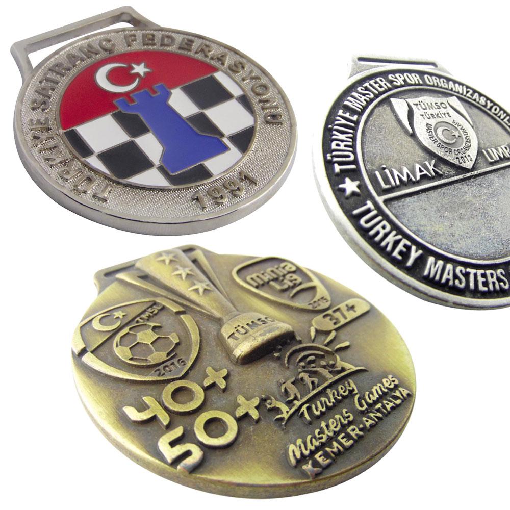 3D Özel Tasarım Madalyonlar