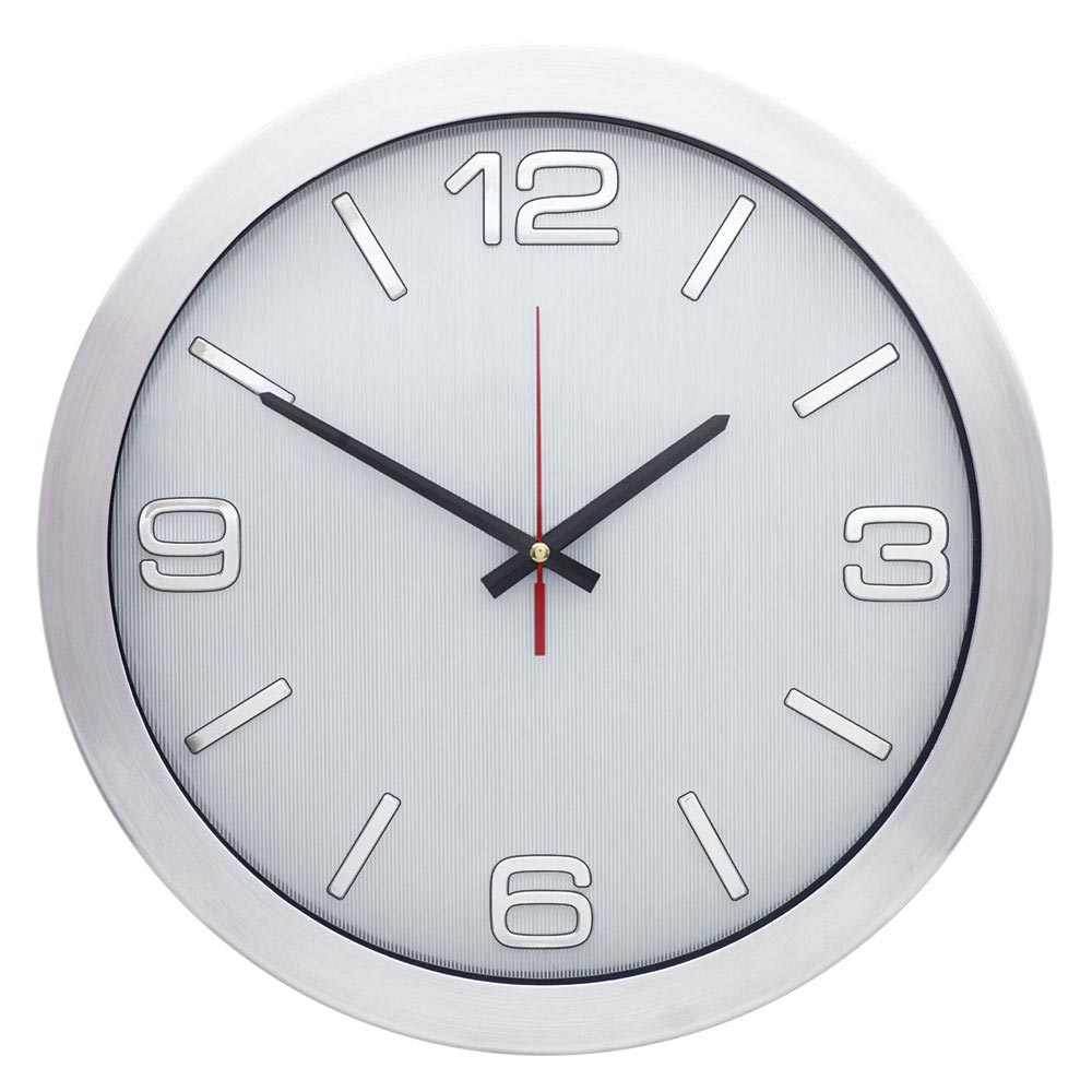 1166 Z 40 cm Aluminum Wall Clock