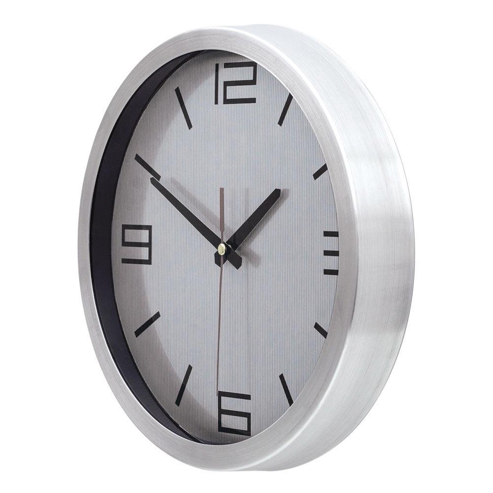 1167 FG - 30 cm Aluminum Wall Clock