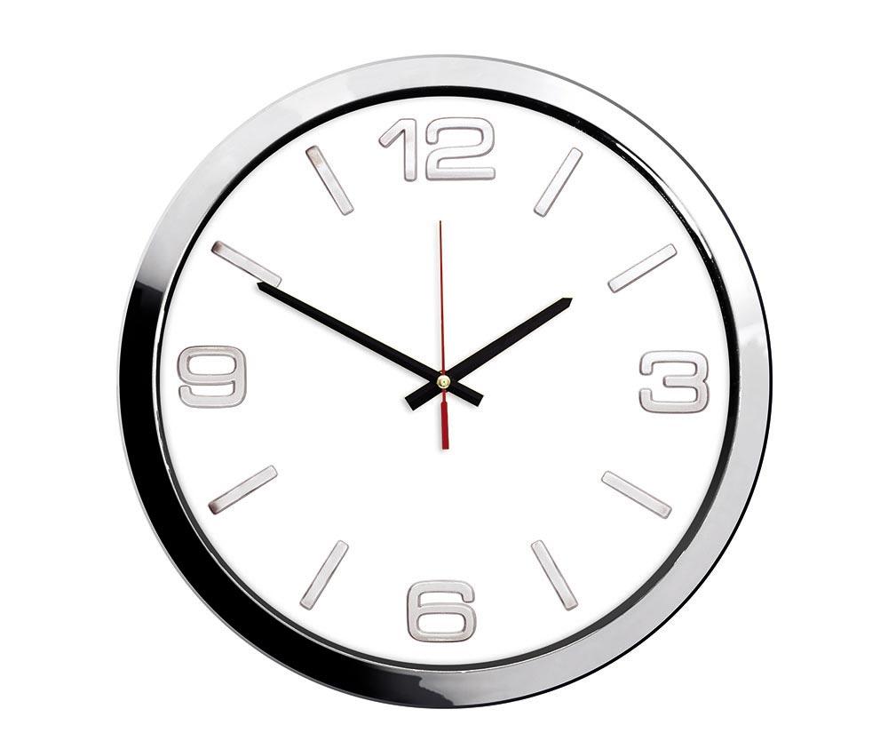 1168 KZ Chrome Wall Clock