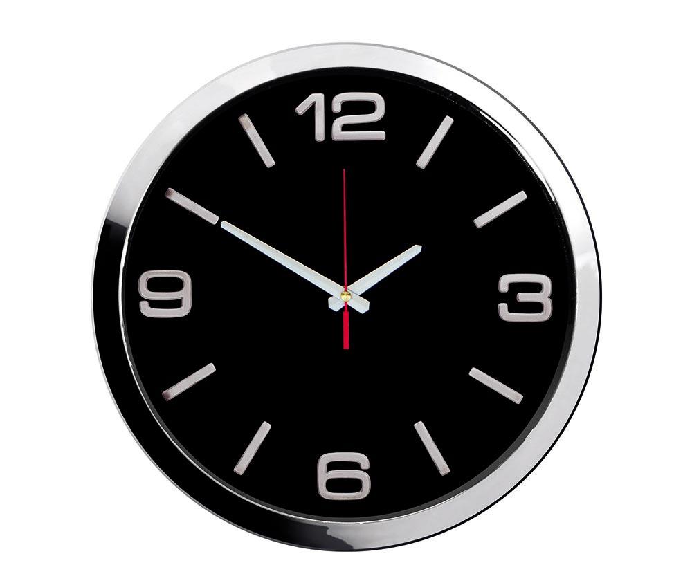 1168 KZS Chrome Wall Clock