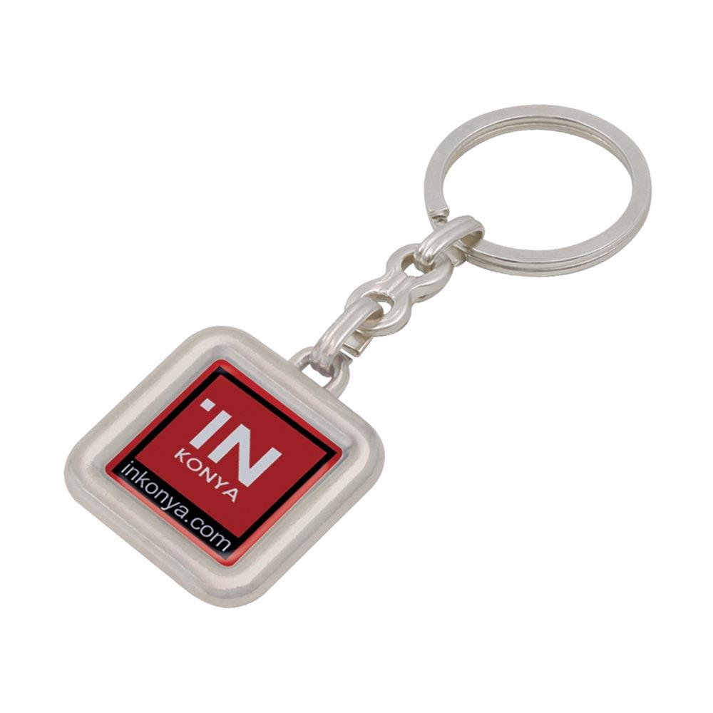 560 - N Metal Keychain