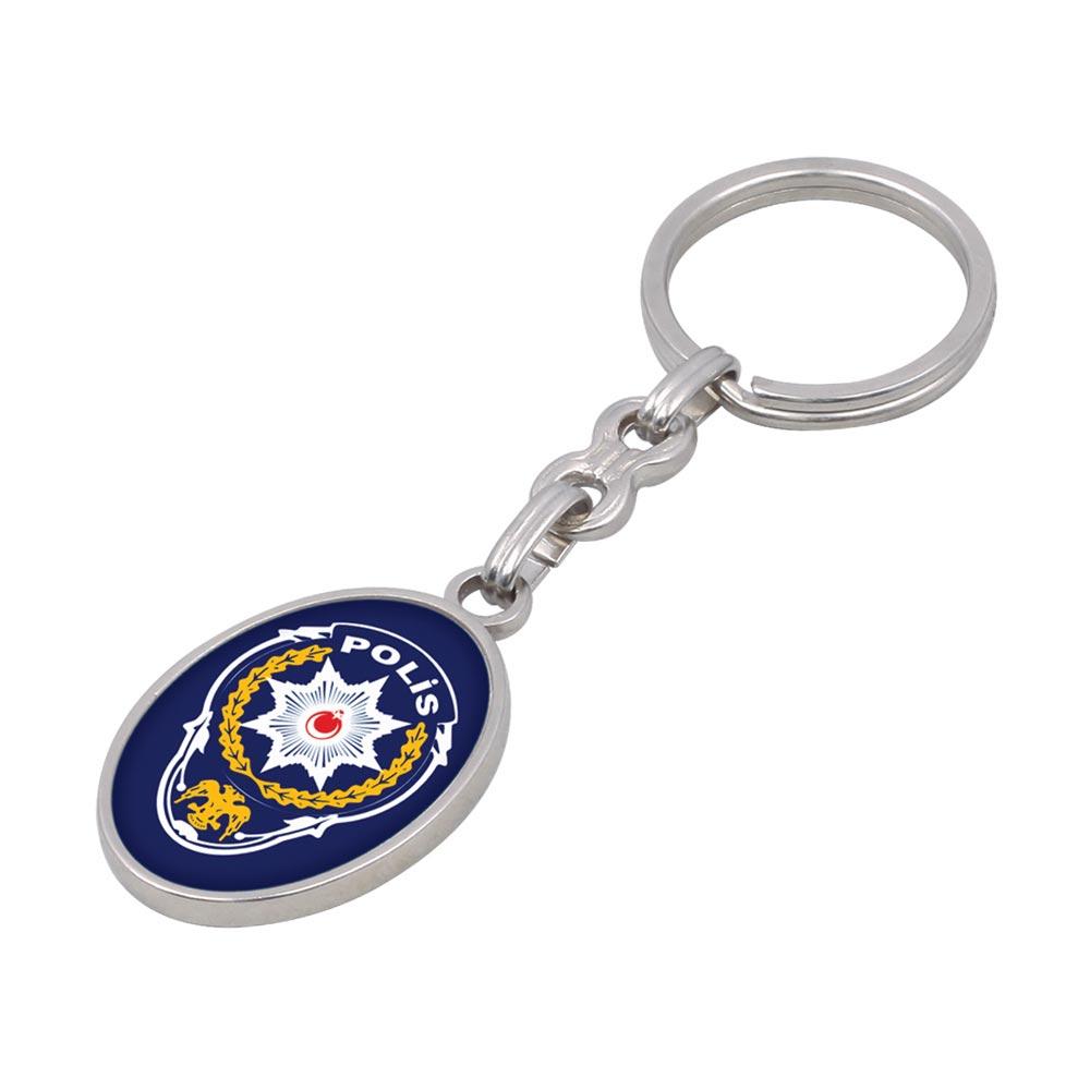 630 N Metal Keychain