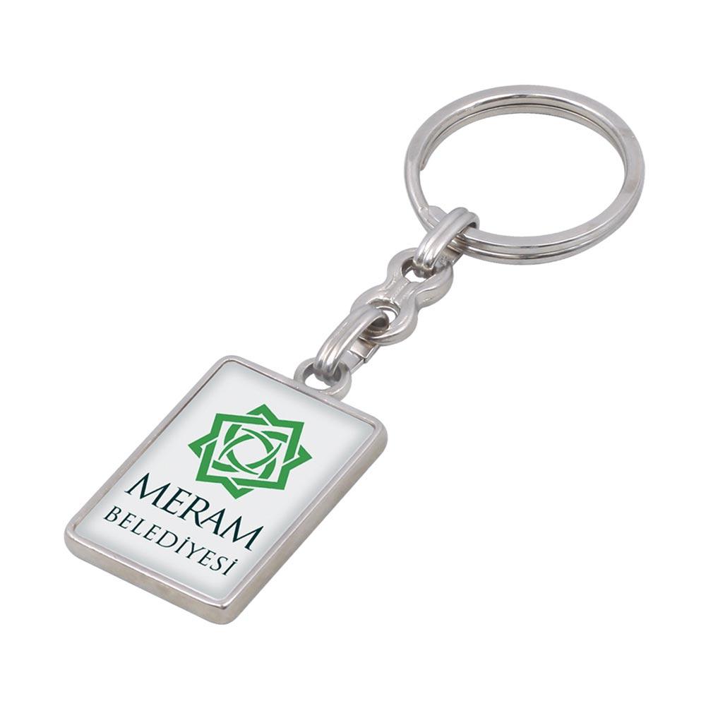 640 N Metal Keychain