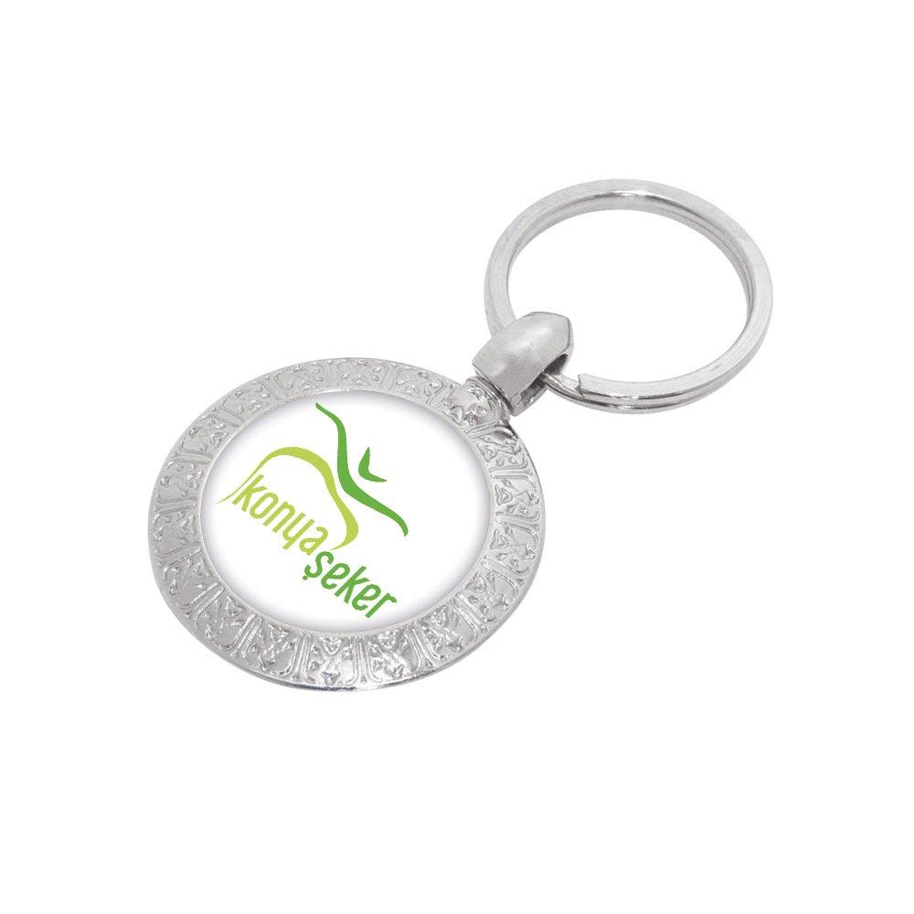 7110 N Metal Keychain