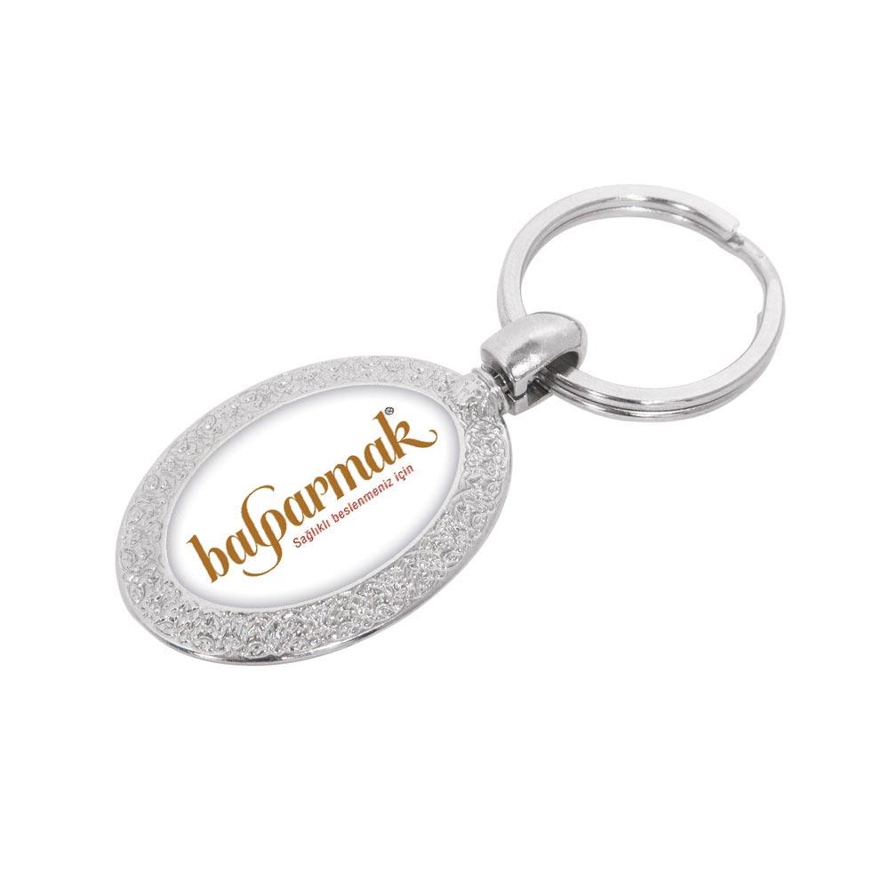 7130 N Metal Keychain