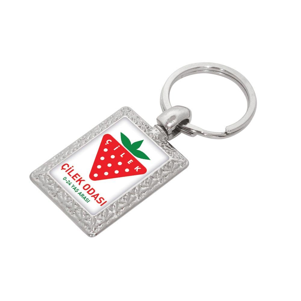 7140 N Metal Keychain