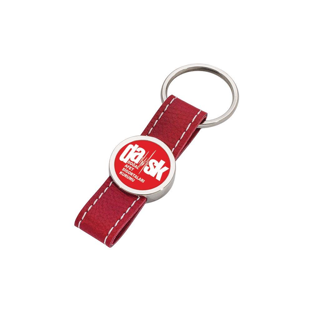 8011 K Leather Keychain