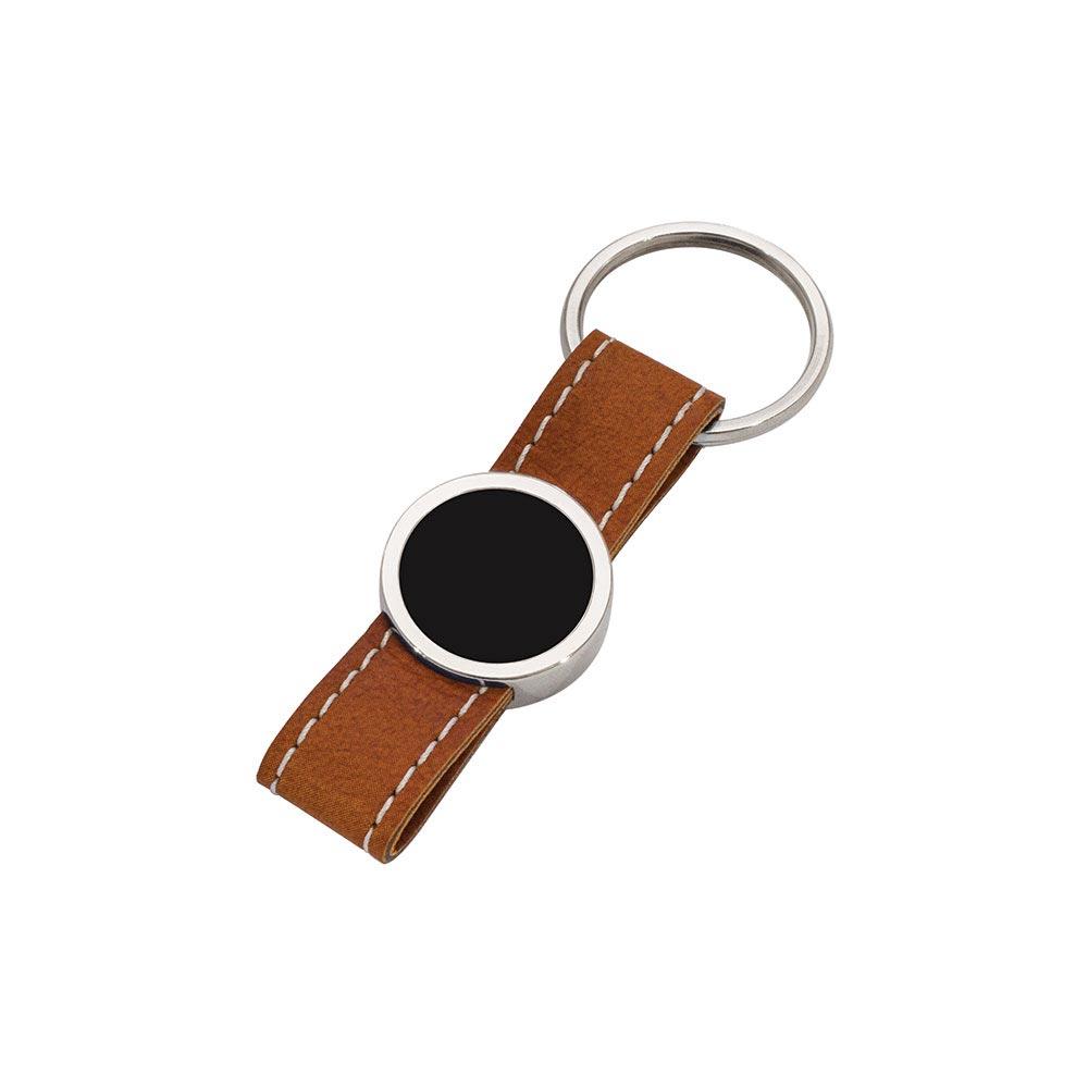 8011 MT Leather Keychain