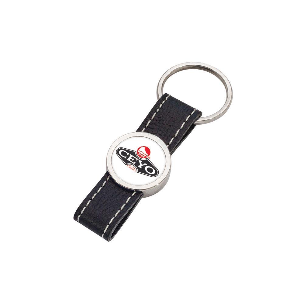 8011 S Leather Keychain