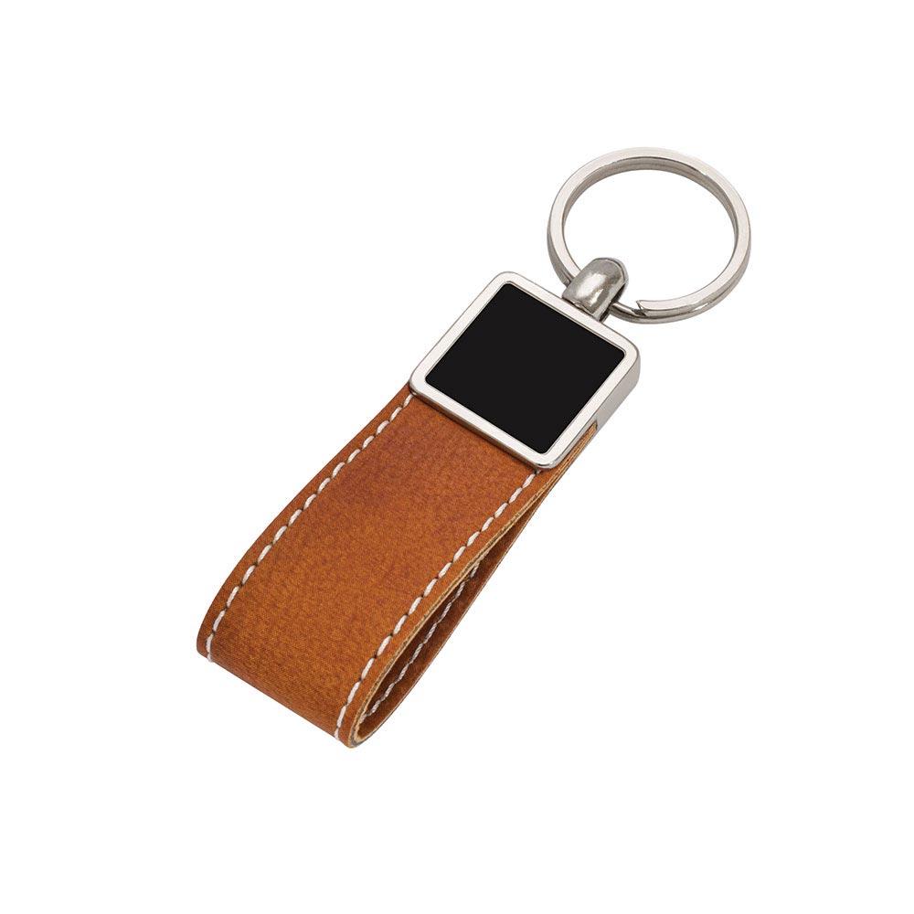 8020 MT Leather Keychain