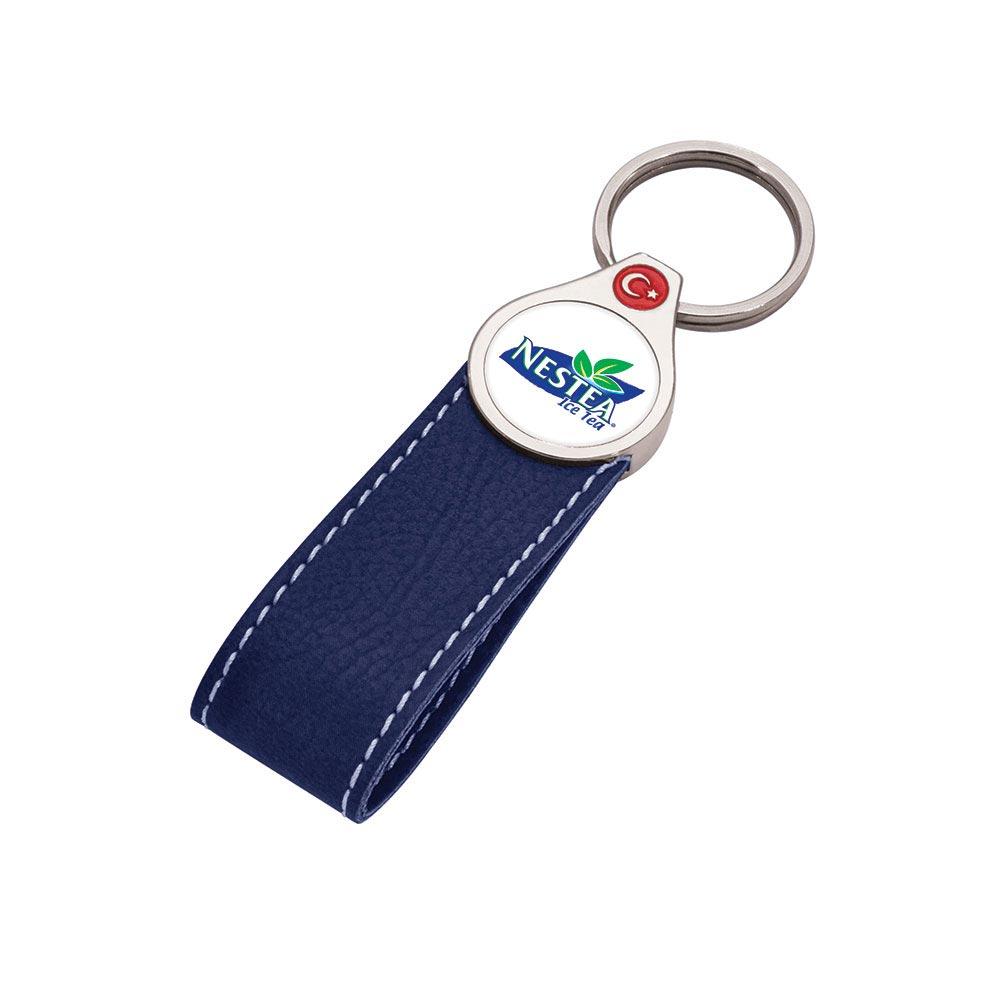 8060 M Leather Keychain