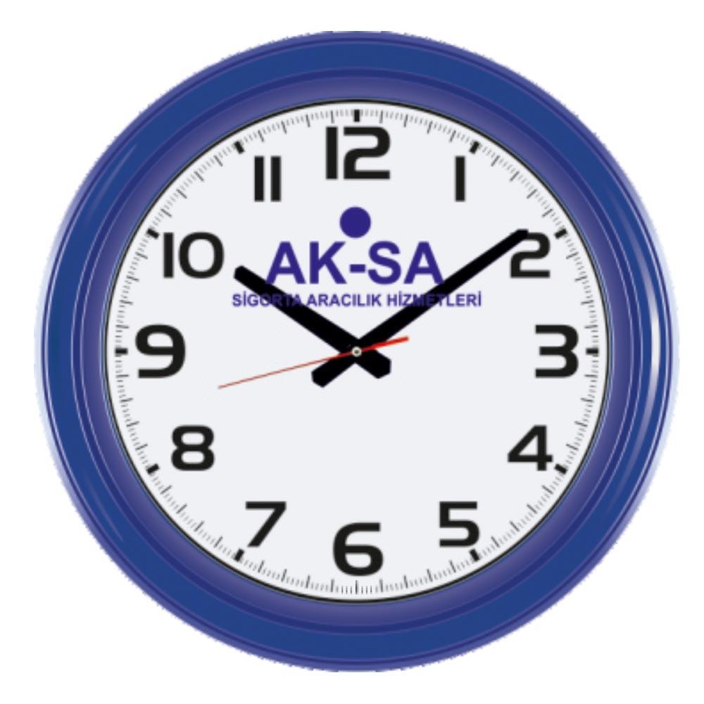 901 - L Wall Clock