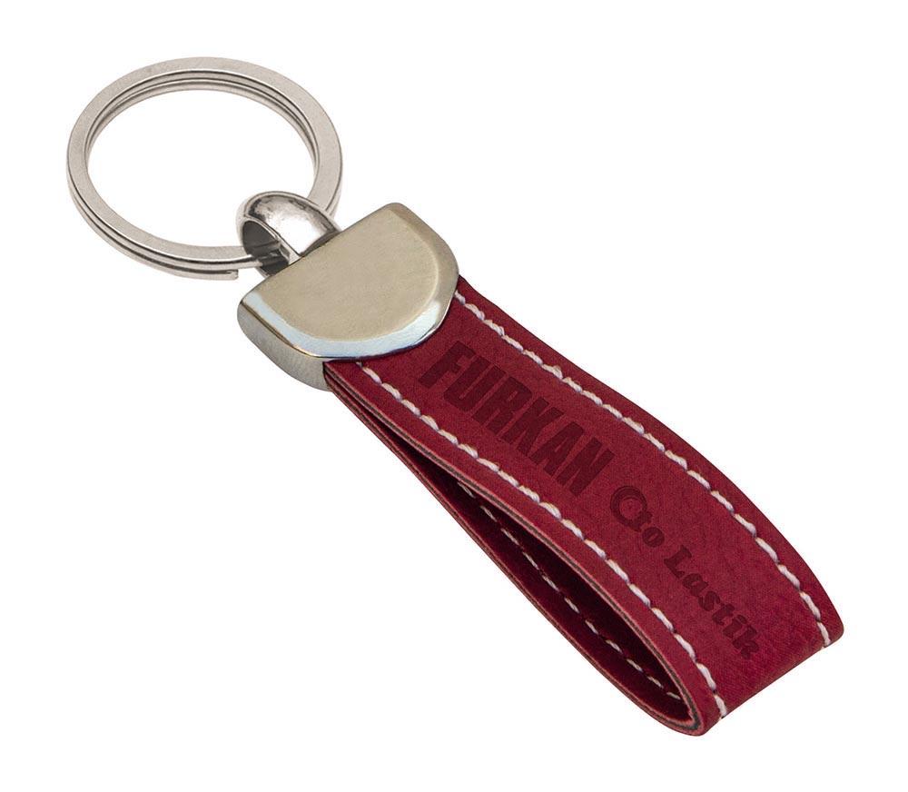 9040 K Leather Keychain