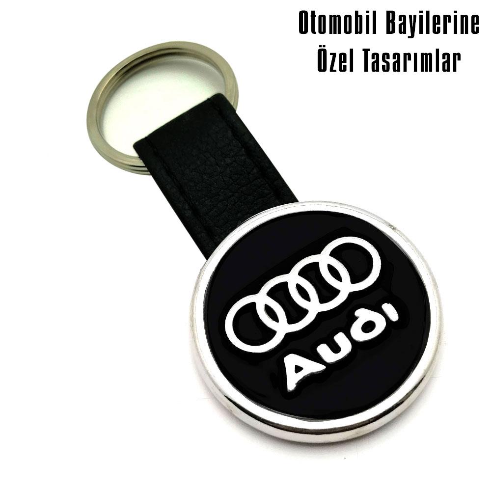 9041 Audi Deri Anahtarlık