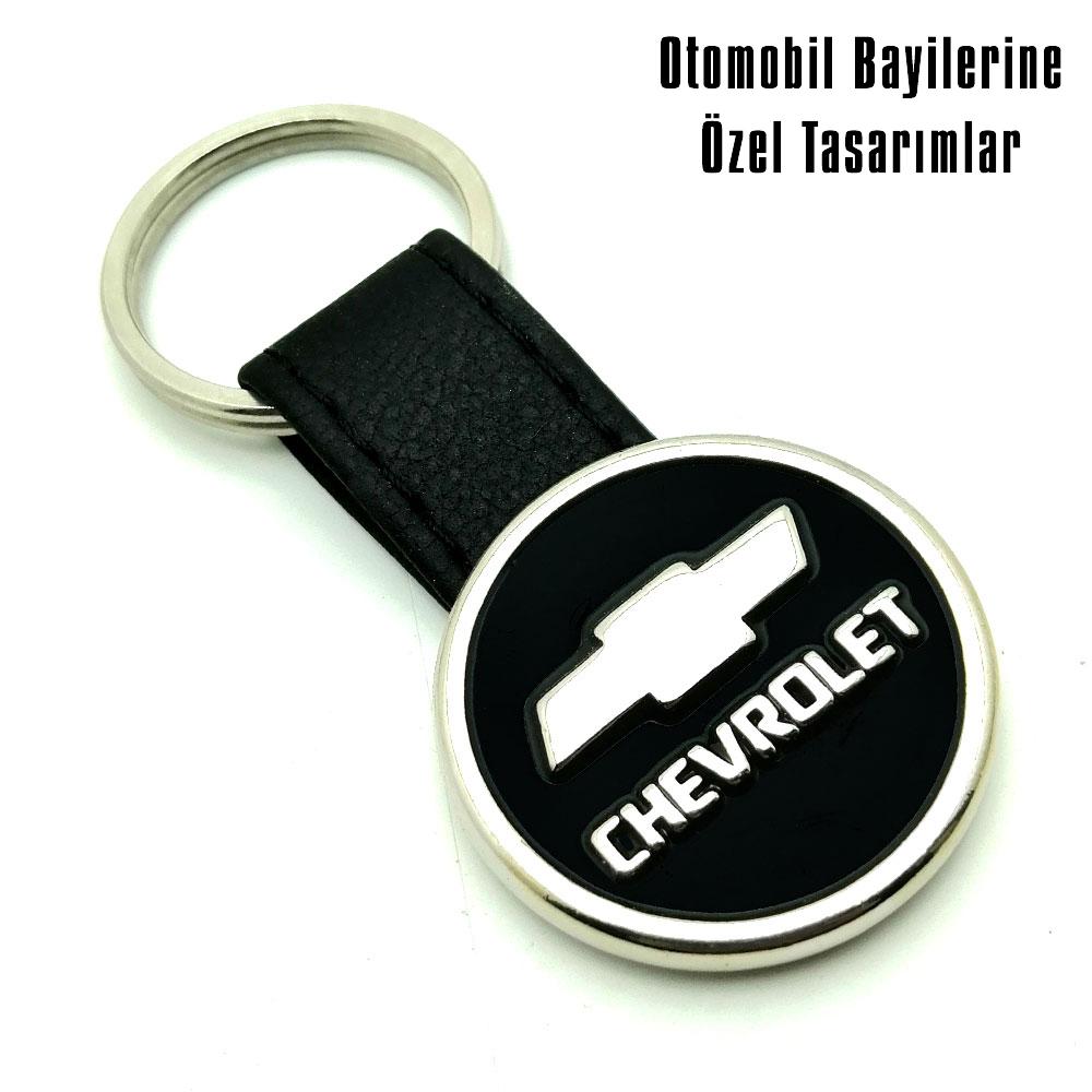 9041 Chevrolet Deri Anahtarlık