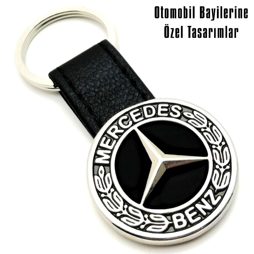 9041 Mercedes Deri Anahtarlık