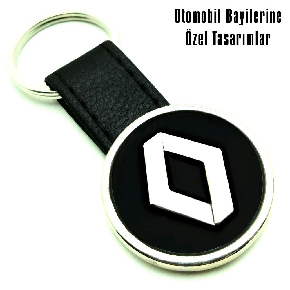 9041 Renault Deri Anahtarlık
