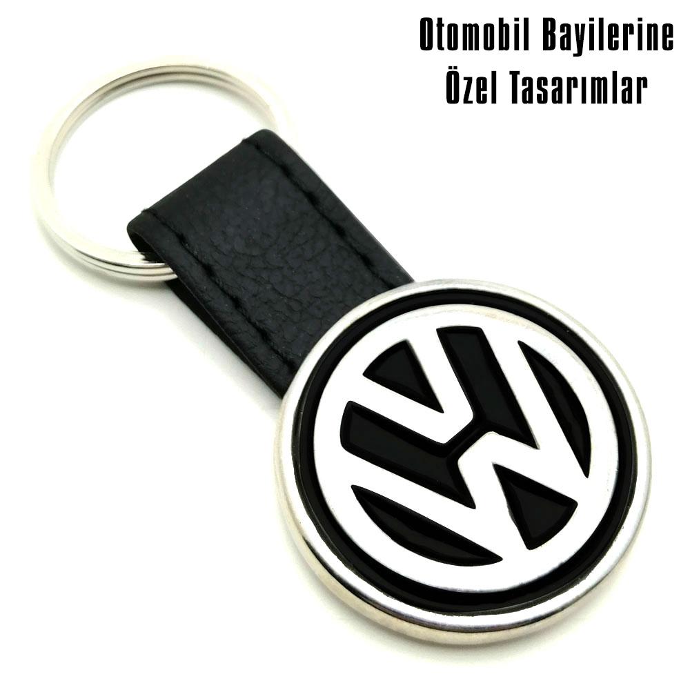 9041 Volkswagen Deri Anahtarlık