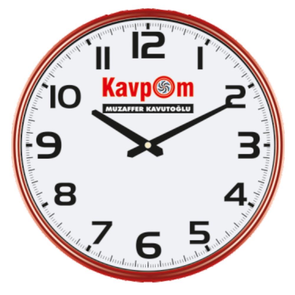 905 - K Wall Clock