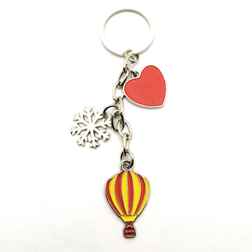 HMA50-04 Kalp Kar Balon Salkım Anahtarlık