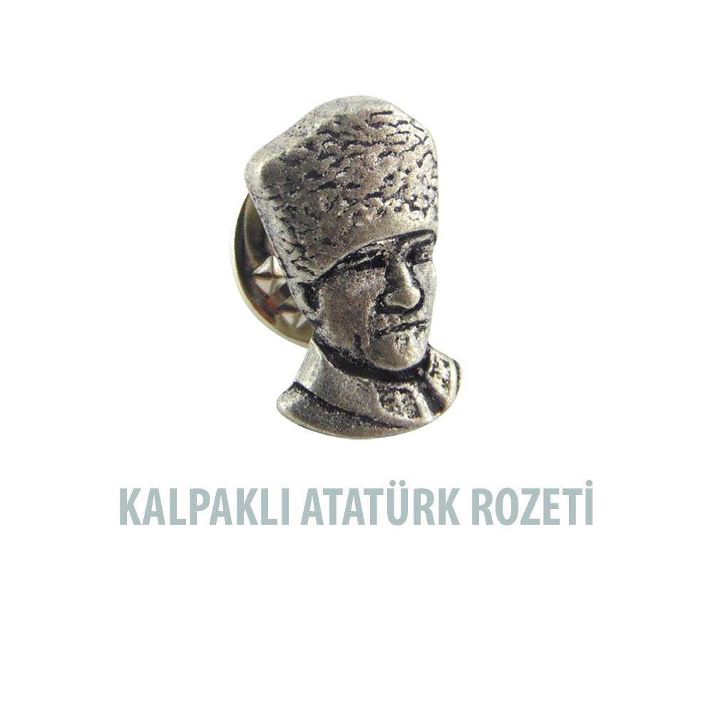 HMR 001 Kalpaklı Atatürk Rozeti