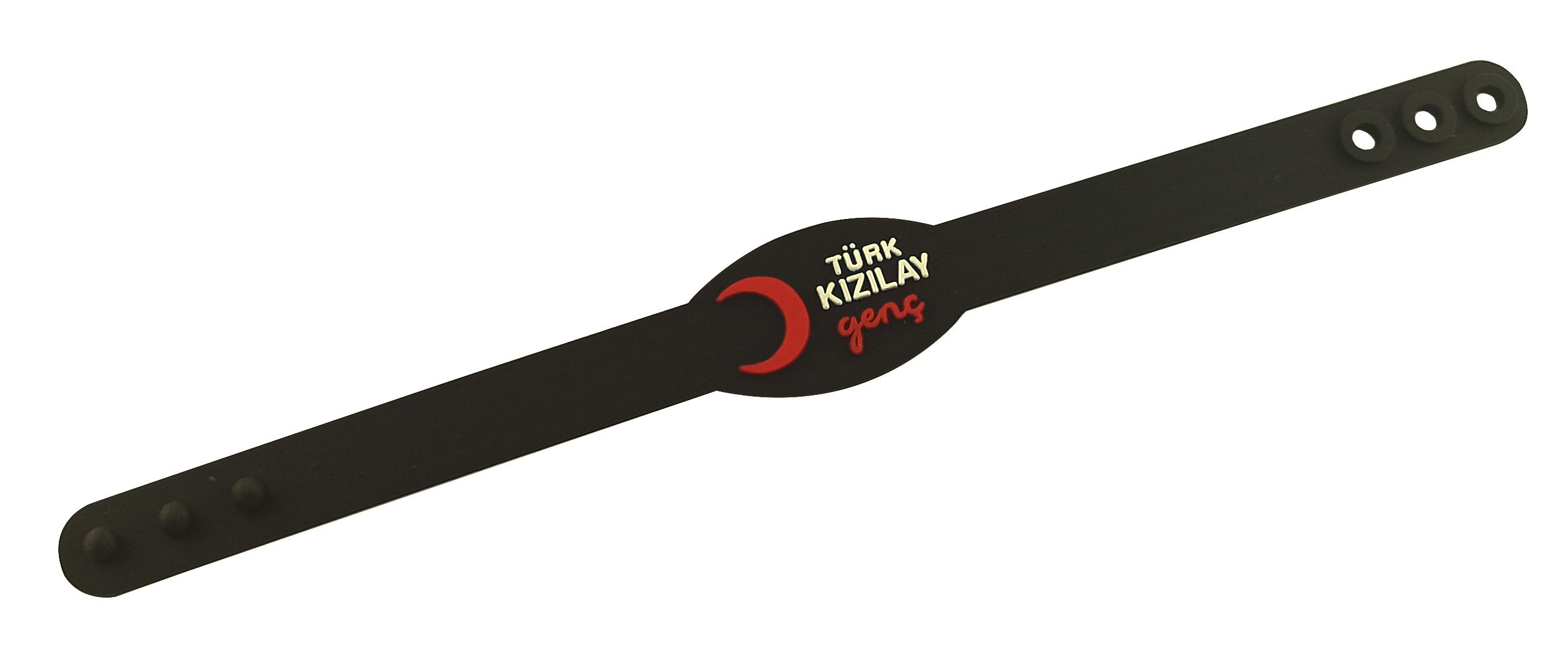 3D PVC Wristband